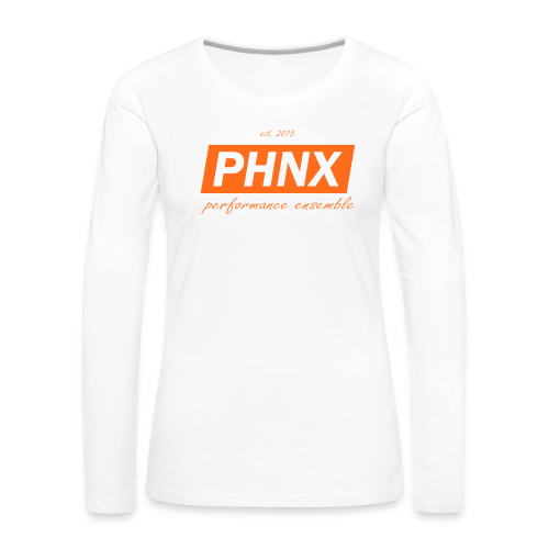 PHNX /#orange/ - Frauen Premium Langarmshirt