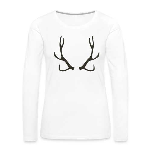 HORN Collection - Premium langermet T-skjorte for kvinner