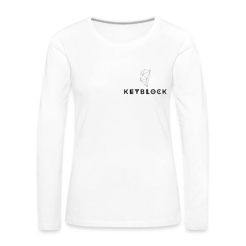 keyblock collezione autunnale - Maglietta Premium a manica lunga da donna