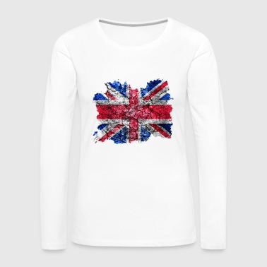 United Kingdom vintage flag - Women's Premium Longsleeve Shirt