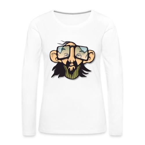 man hippie - Frauen Premium Langarmshirt