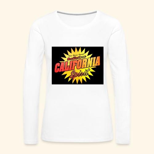 California Spirit Radioshow Vintage - T-shirt manches longues Premium Femme