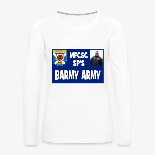 Barmy Army - Women's Premium Longsleeve Shirt