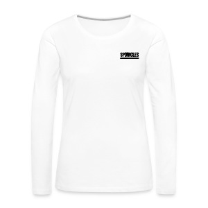 Sponicles Signature Design! - Women's Premium Longsleeve Shirt