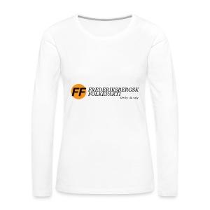 Din by, dit valg - Bestsellere - Dame premium T-shirt med lange ærmer