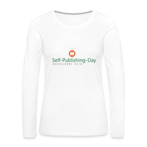 Self-Publishing-Day Düsseldorf 2018 - Frauen Premium Langarmshirt