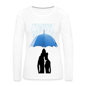 Love under the umbrella - Vrouwen Premium shirt met lange mouwen