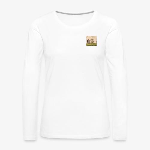 FLO - Moi, je dis - T-shirt manches longues Premium Femme