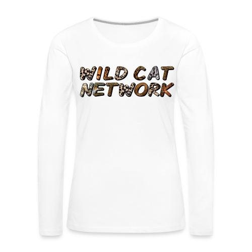 WildCatNetwork 1 - Women's Premium Longsleeve Shirt