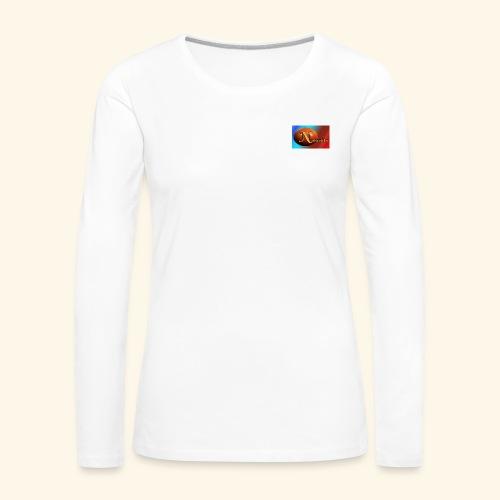 NathanielsLogo2 - Frauen Premium Langarmshirt