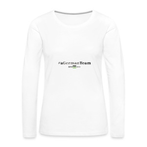 aGermanTeam_black - Frauen Premium Langarmshirt