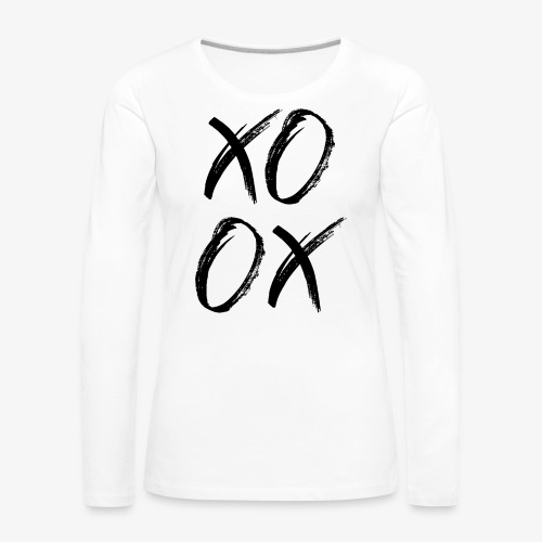 XOXO - Frauen Premium Langarmshirt