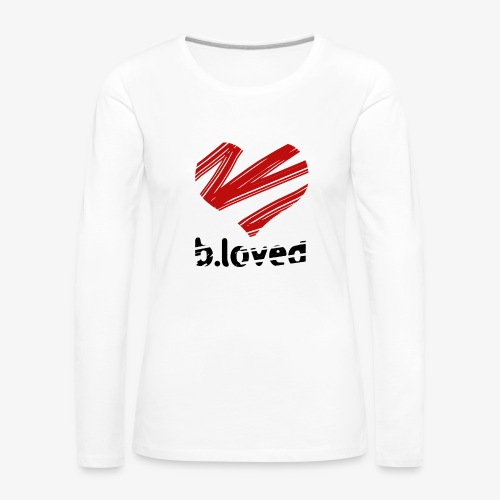b-loved - Koszulka damska Premium z długim rękawem