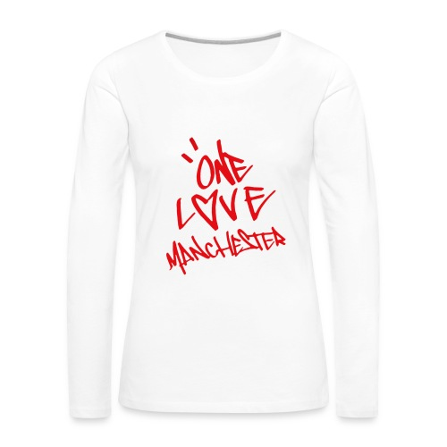 One love Manchester - Women's Premium Longsleeve Shirt