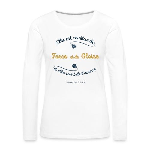 Prov 31 - T-shirt manches longues Premium Femme