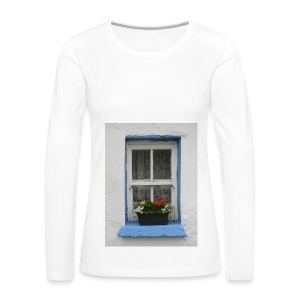 Cashed Cottage Window - Women's Premium Longsleeve Shirt