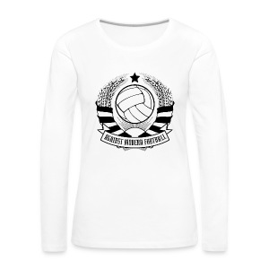 Against Modern Football - Camiseta de manga larga premium mujer
