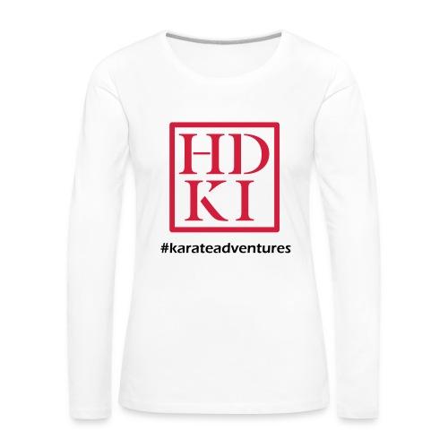 HDKI karateadventures - Women's Premium Longsleeve Shirt