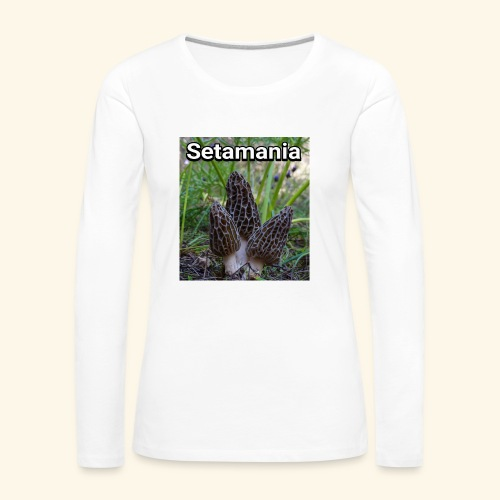 Colmenillas setamania - Camiseta de manga larga premium mujer