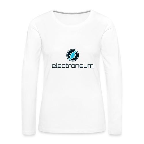Electroneum - Women's Premium Longsleeve Shirt