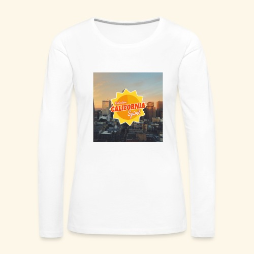 California Spirit City - T-shirt manches longues Premium Femme