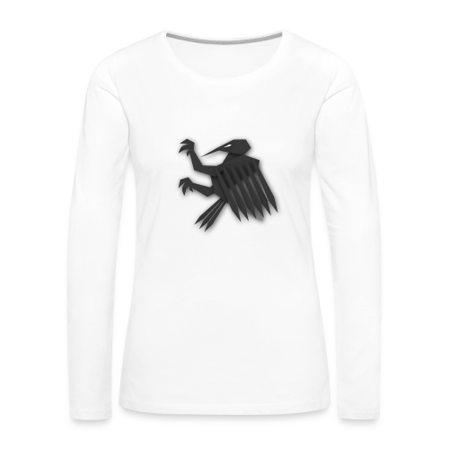 Nörthstat Group ™ Black Alaeagle - Women's Premium Longsleeve Shirt