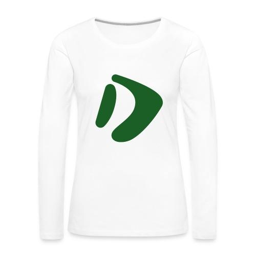 Logo D Green DomesSport - Frauen Premium Langarmshirt