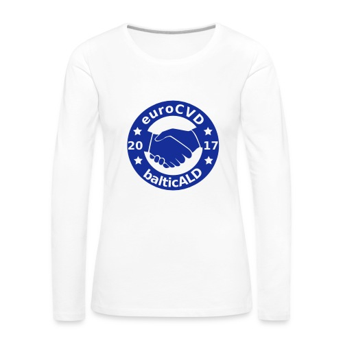 Joint EuroCVD - BalticALD conference mens t-shirt - Women's Premium Longsleeve Shirt