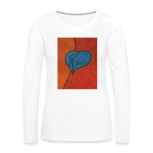 Czekam - Koszulka damska Premium z długim rękawem
