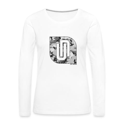 Unitwear – Camo UN Tshirt - Vrouwen Premium shirt met lange mouwen