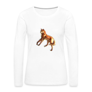 Fox of the night - Women's Premium Longsleeve Shirt