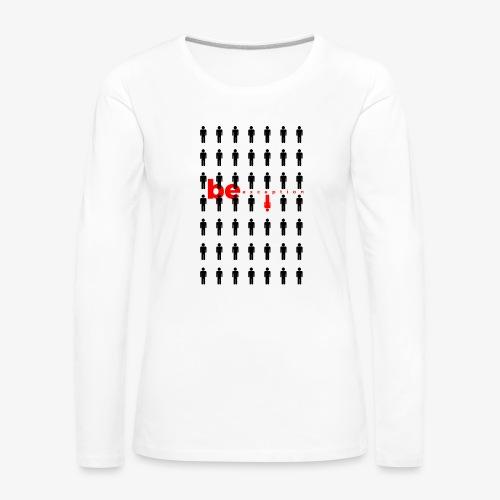be exception - Koszulka damska Premium z długim rękawem