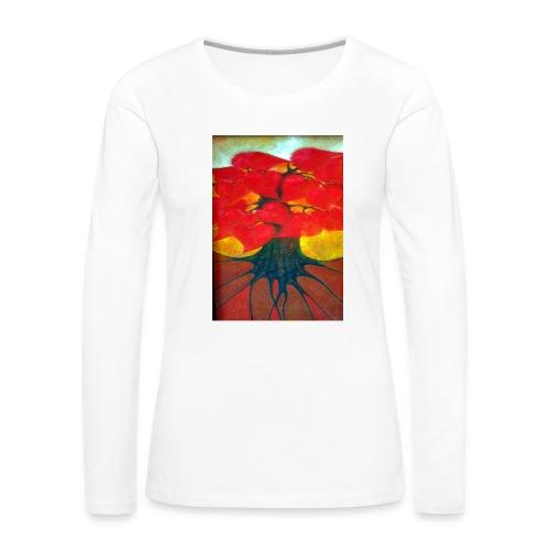 Bukiet - Koszulka damska Premium z długim rękawem