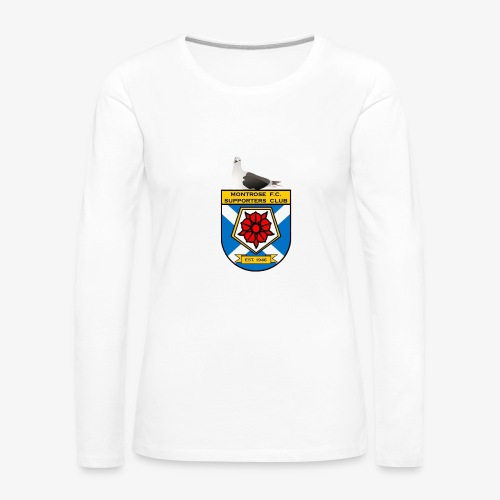Montrose FC Supporters Club Seagull - Women's Premium Longsleeve Shirt