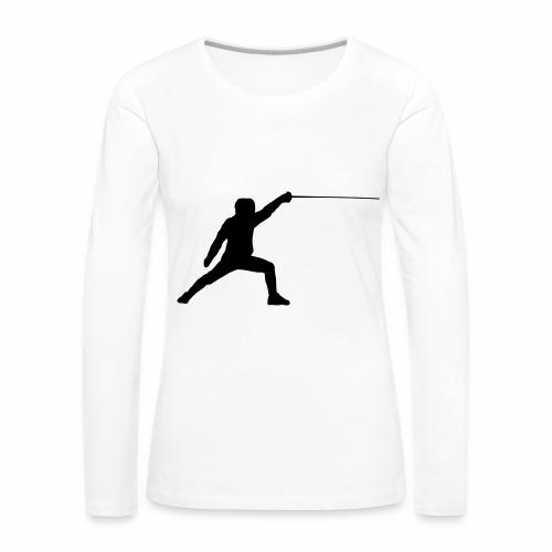 Fencer - Frauen Premium Langarmshirt