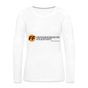 Din by, dit valg - Premium - Dame premium T-shirt med lange ærmer