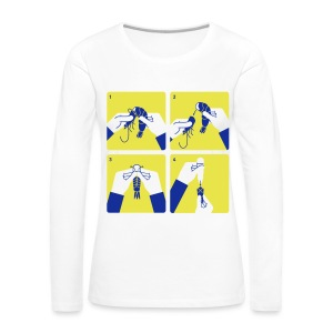 peel shrimp - Women's Premium Longsleeve Shirt