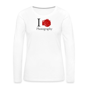 I Love Photography Collection - Frauen Premium Langarmshirt