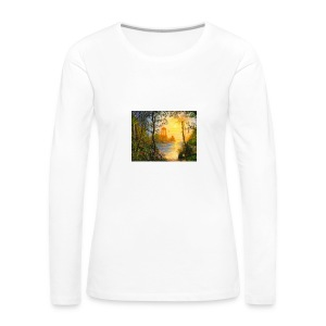 Temple of light - Women's Premium Longsleeve Shirt