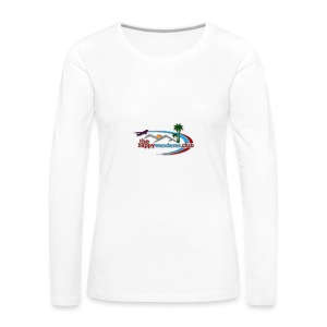 The Happy Wanderer Club - Women's Premium Longsleeve Shirt