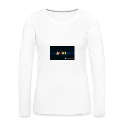 OhrBit Logo - Frauen Premium Langarmshirt