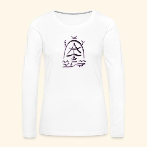 Arfolara solo - Frauen Premium Langarmshirt