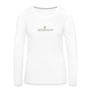 Self-Publishing-Day Düsseldorf 2018 - Frauen Premium Langarmshirt