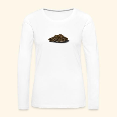 Oktopus - Frauen Premium Langarmshirt