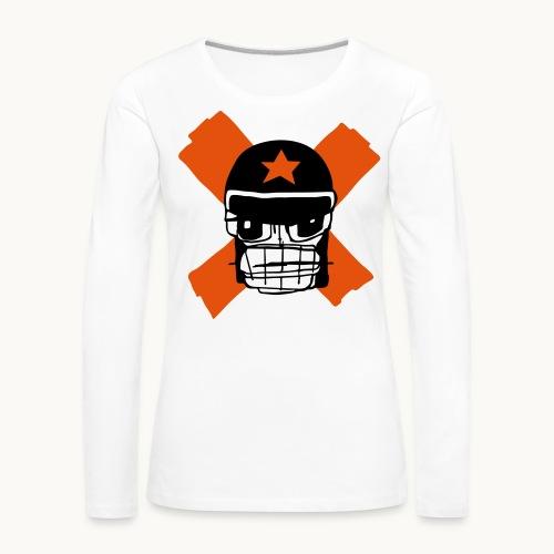 Motard Micky Biker - T-shirt manches longues Premium Femme
