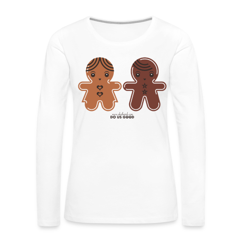 GINGERBREADS - Naisten premium pitkähihainen t-paita