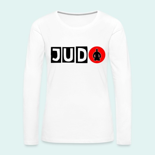 Motiv Judo Japan - Frauen Premium Langarmshirt
