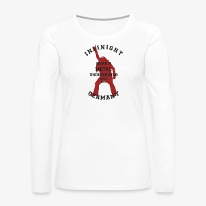 Infinight College headbanger hell red - Frauen Premium Langarmshirt