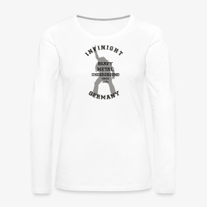 Infinight College headbanger dark - Frauen Premium Langarmshirt