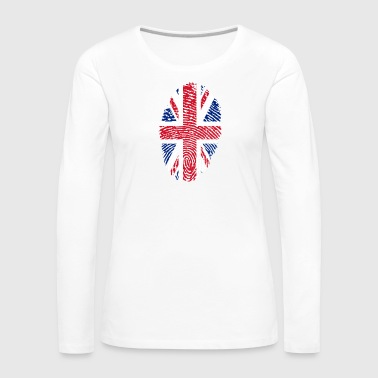 united kingdom ID - Women's Premium Longsleeve Shirt